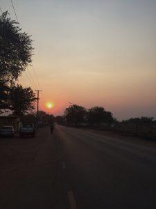 Min bästa grej här: solnedgångarna