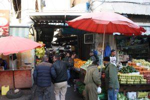 Matmarknad i ramallah