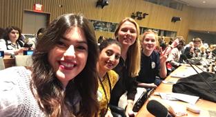Kvinnor, fred och säkerhet i Palestinaprogrammet