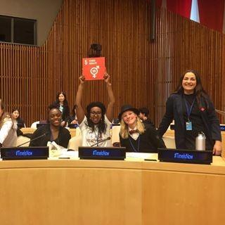 Unga KFUM-ledare tar plats på kvinnorättsmöte i New York