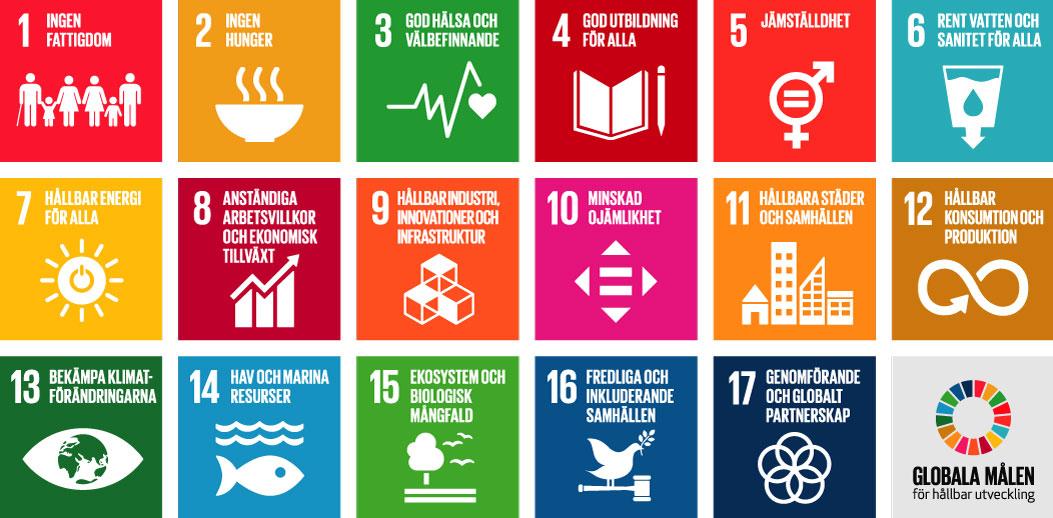 KFUM tar plats i Sveriges handlingsplan för Agenda 2030